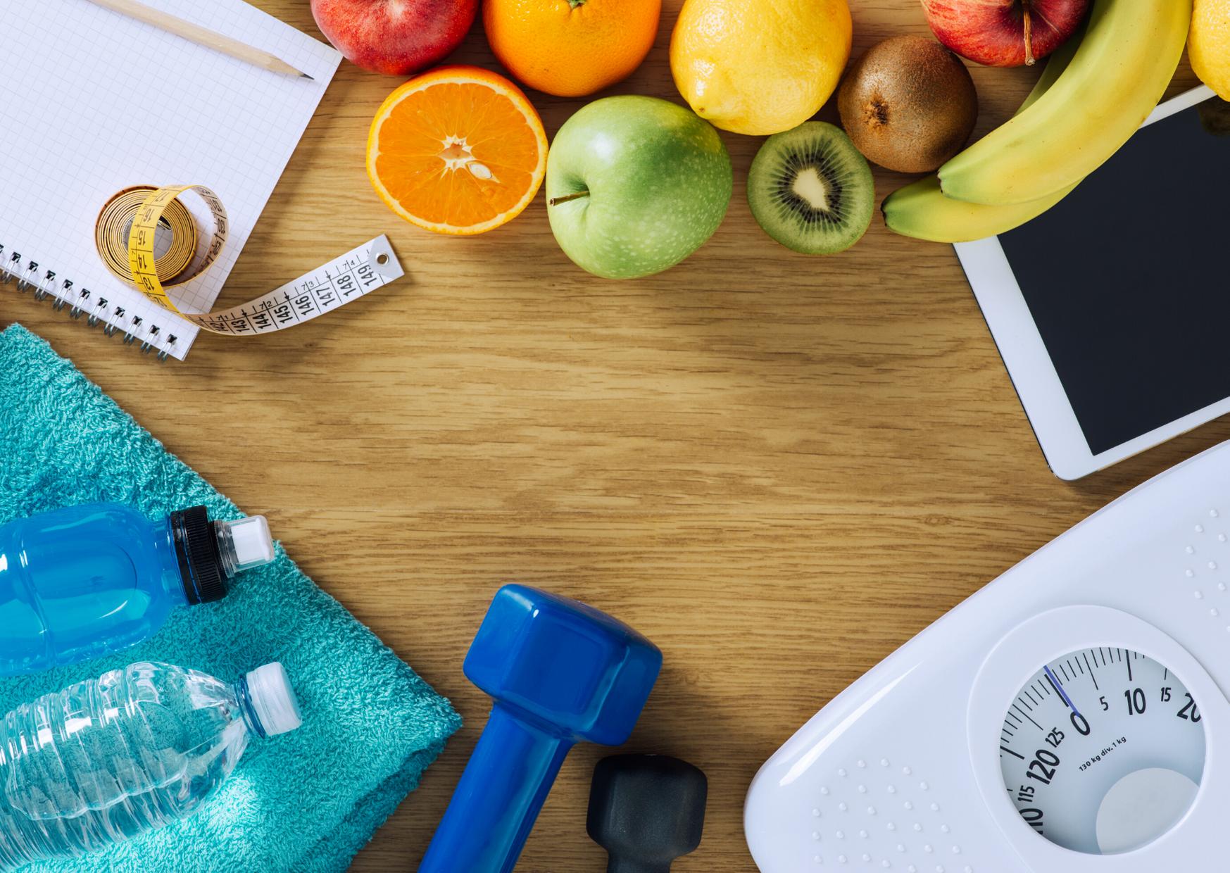 perda de peso atraves de exercicios, dieta e acompanhamento medico