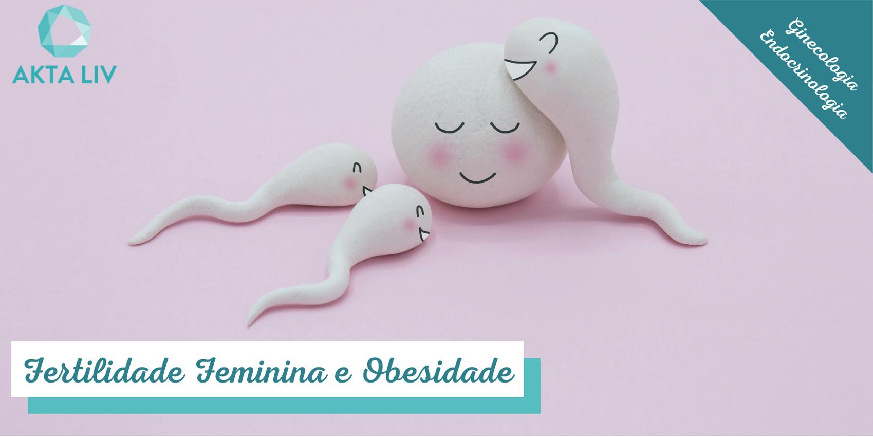 fertilidade feminina e obesidade - animacao de ovulo e espematozoides
