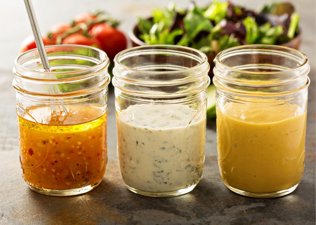 Molhos de salada são considerados produto fit